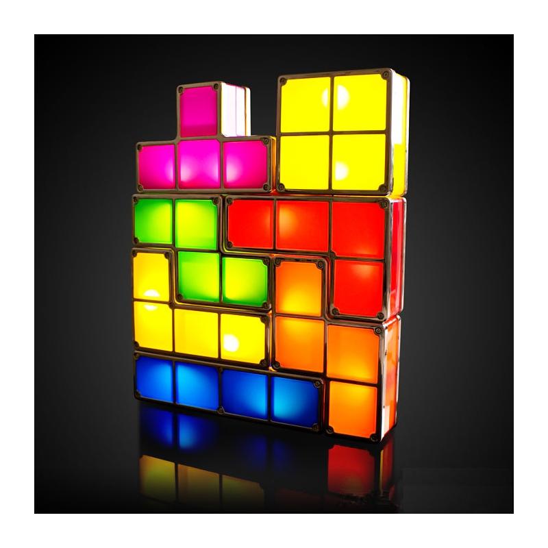 lampe tetris mobulable geekachat. Black Bedroom Furniture Sets. Home Design Ideas